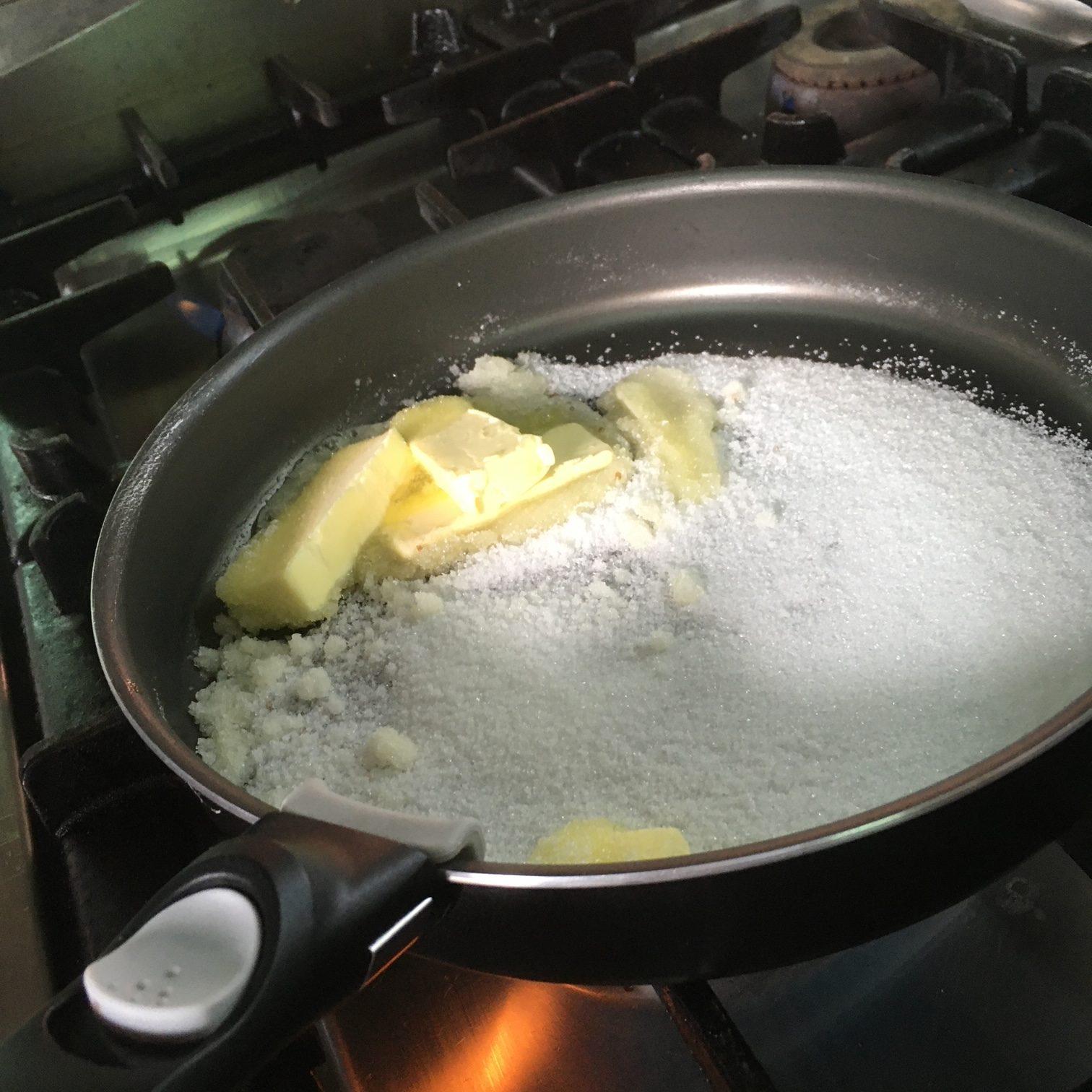 Tarte Tatin aus Bananen