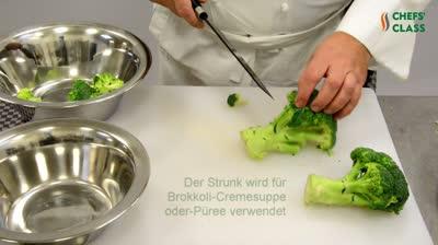 Brokkoli zerteilen